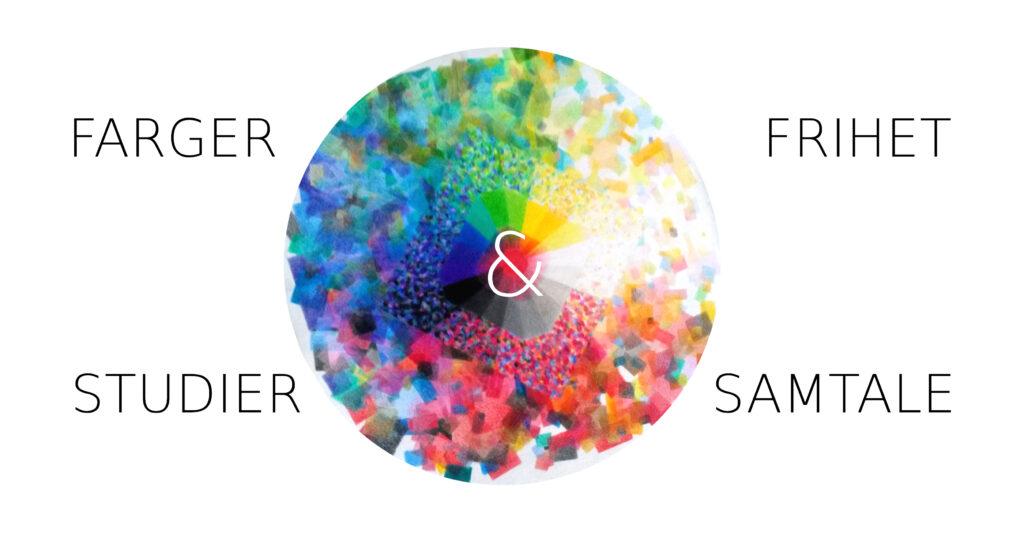 SonjaBunes_farger_frihet_studier_samtale_AtelierPrikkStrekBue